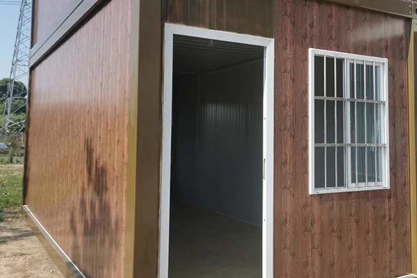 折叠式箱房-成都住人集装箱